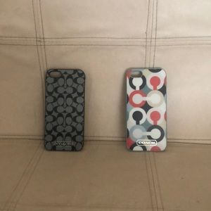 AUTHENTIC COACH iPhone cases for 4 or 5